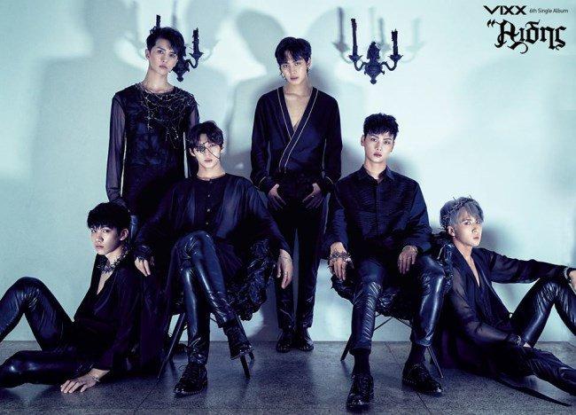 【160806】VIXX公开全新单曲专辑《Hades》团体、个人概念照