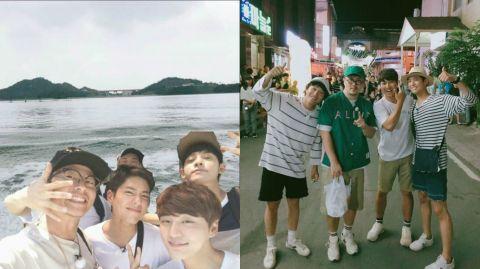 【160806】朴宝剑终於出演综艺节目啦!与金俊铉作客《两天一夜》!
