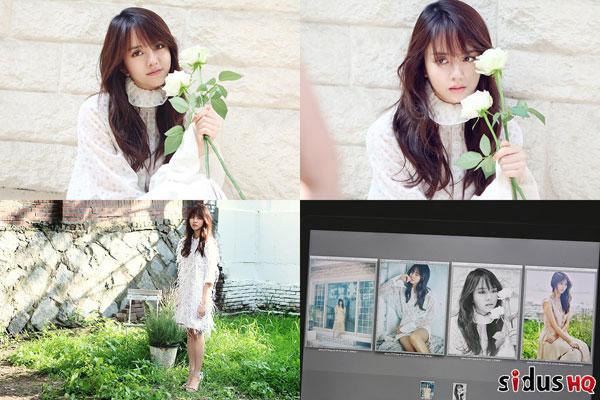 【160728】金所炫公开最新写真花絮照 被赞「无法替代的花样美貌」