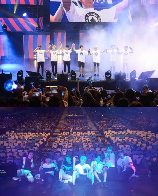 【160808】BTOB首次台湾开唱 三千粉丝热情应援