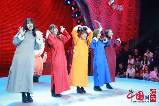 【160808】SNH48登《笑傲江湖3》说相声 郭德纲现场撩妹