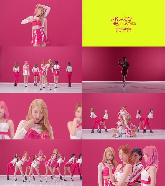 【160812】9MUSES出道6周年 公开9MUSES A新歌舞蹈版MV