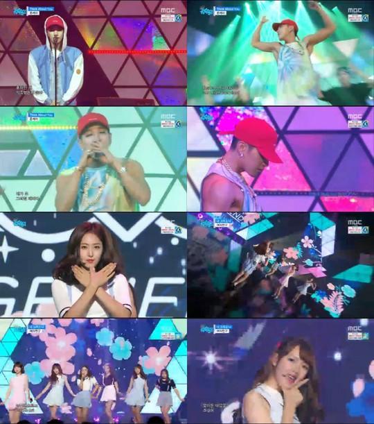【160813】《音乐中心》Jun.K强势回归 GFRIEND公开告别舞台