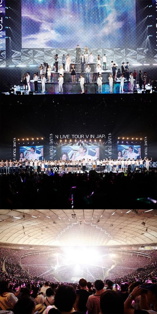 【160815】SMTOWN东京公演盛大落幕 狂欢盛宴引爆全场