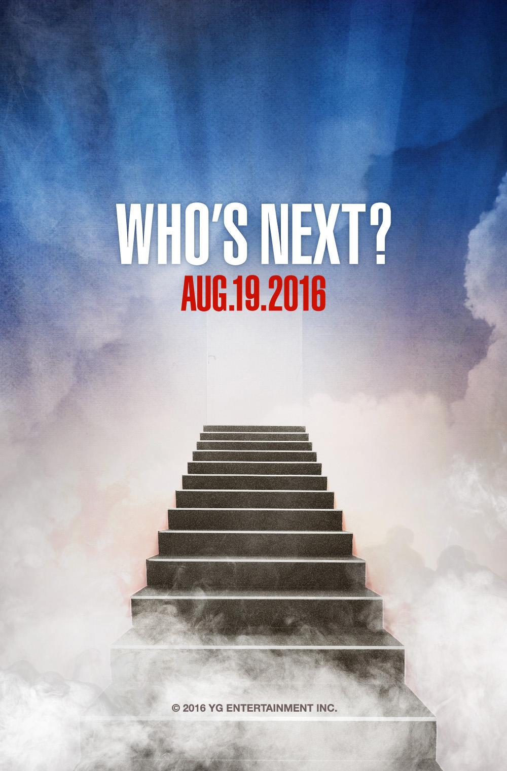 【160816】YG LIFE更新:WHO'S NEXT?