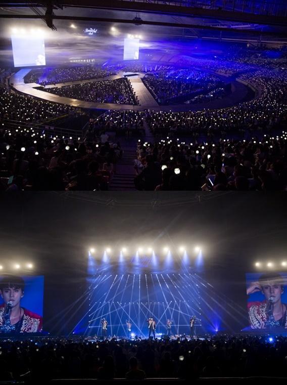 【160822】BEAST演唱会完美落幕 成员秀个人舞台