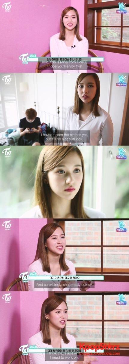 【160822】Mina:如果我是男人的话 会选择与定延姐姐交往