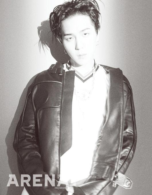 【160822】宋旻浩 黑白照片中也充满swag