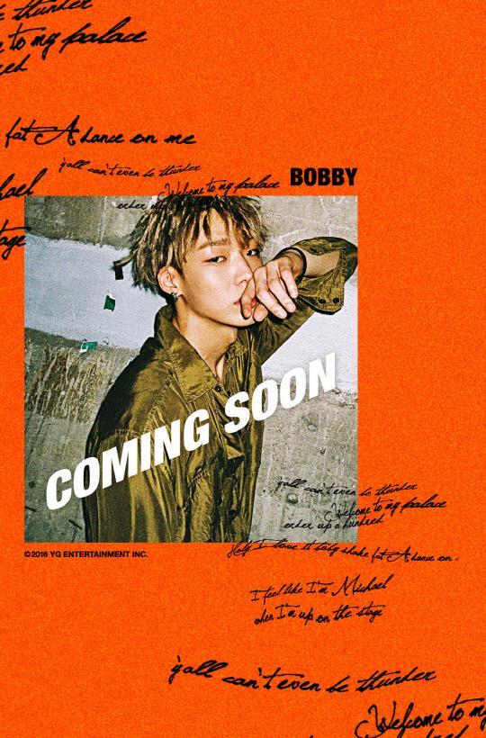 【160829】BOBBY预告照公开 魅力眼神非比寻常