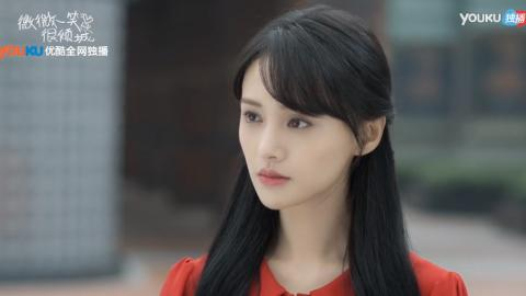 """【160829】《微微一笑很倾城》今晚精彩预告:""""良家妇女""""红裙微微上线"""