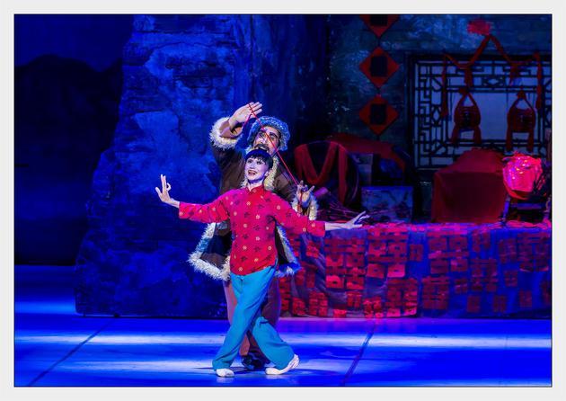 芭蕾舞剧《白毛女》在北京落幕 七旬的森下洋子为主创图片
