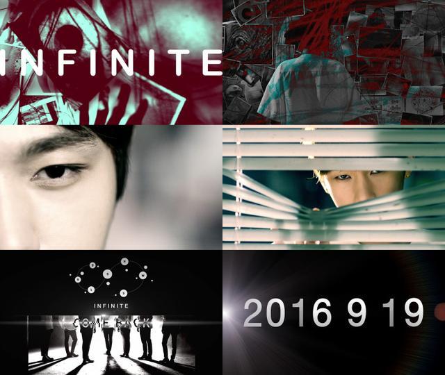 [160831]NFINITE9月19日回归 预告视频正式公开