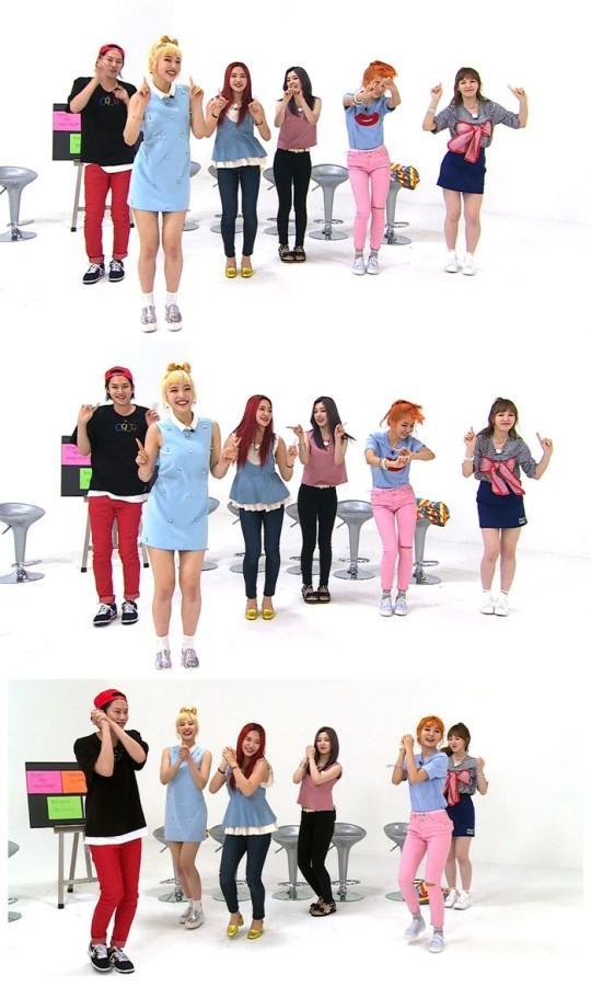 [160907]Red Velvet出演《周偶》 大秀舞蹈实力