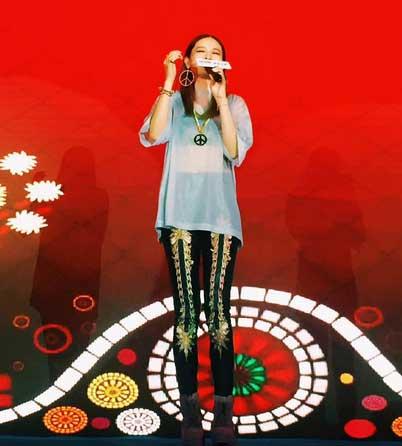 柳妍熙获邀出席献歌助阵音乐先锋榜颁奖礼发布会