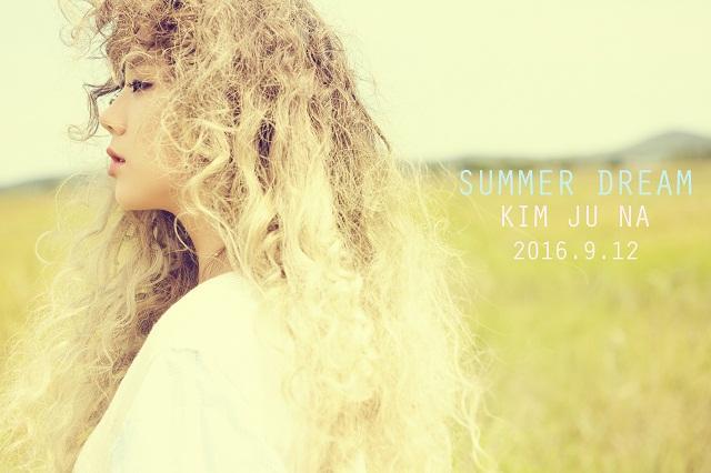 金珠娜出道曲《Summer Dream》预告照片公开