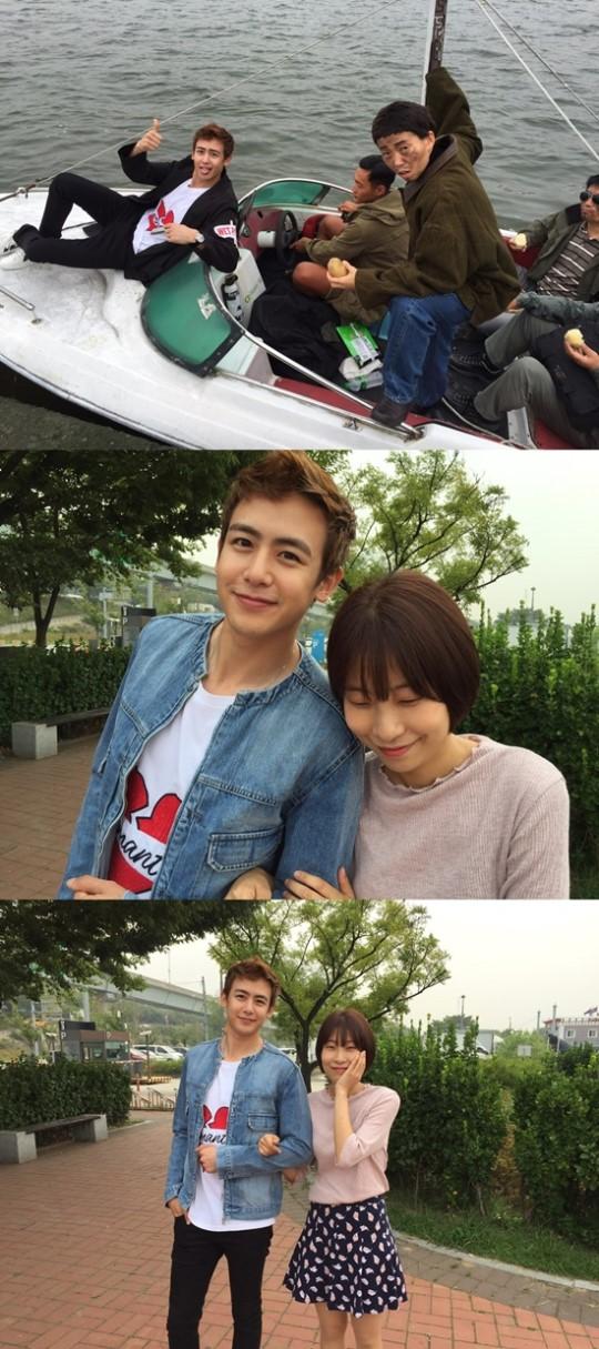 "[160908]2PM出演《SNL Korea》完美变身""三分恋人"""