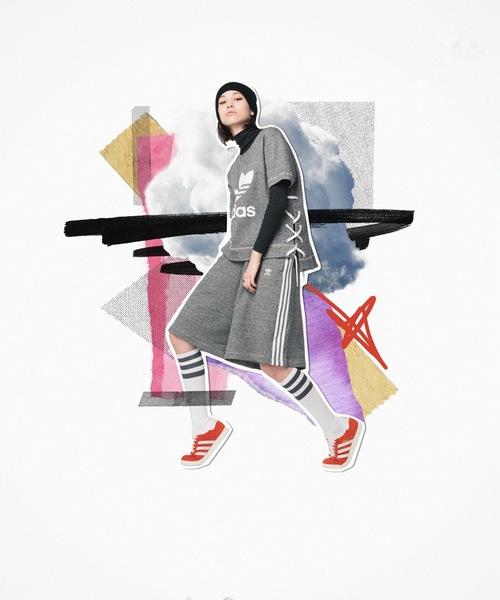 水原希子演绎最新秋冬穿搭 青春活力玩转时尚运动风