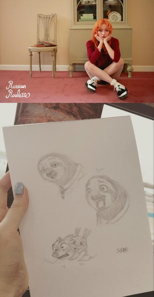 [160909]Red Velvet涩琪绘画才能受认可 将任动画节宣传大使