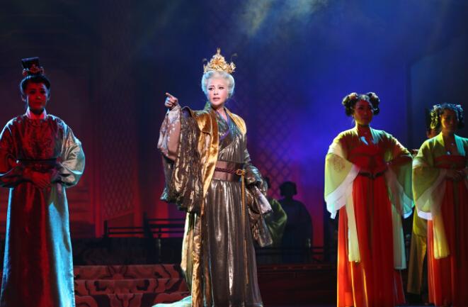 2016年刘晓庆大型史诗话剧《武则天》巡演城市安排 演出门票订购