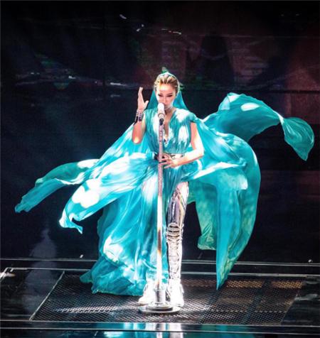 2017COCO李玟长沙演唱会安排 8月19日湖南国际会展中心唱响
