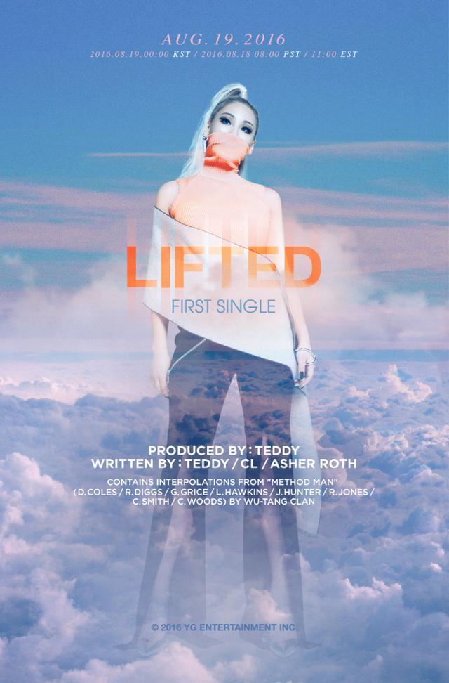 [160919]CL单曲《Lifted》人气高 官方MV点阅数破千万