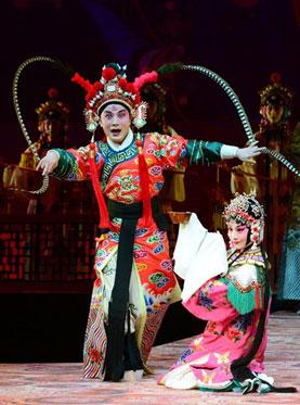 长安大戏院10月22-23日演出 徽剧《徽班进京》