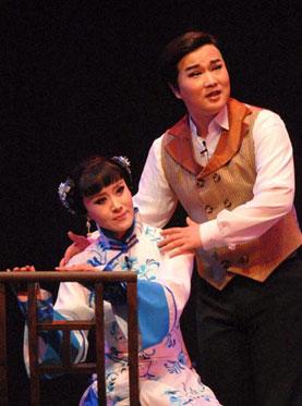 长安大戏院11月2日-3日演出 黄梅戏《风尘女画家》