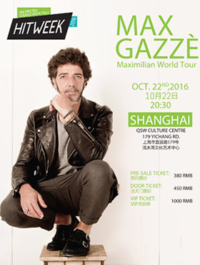 Max Gazzè Maximilian World Tour