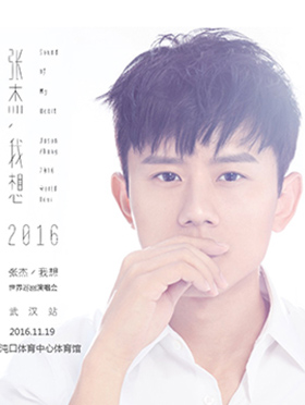 """张杰2016""""我想""""世界巡回演唱会—武汉站"""
