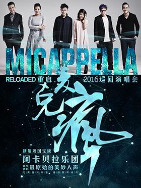 【万有音乐系】 Reloaded重启——麦克疯Micappella 2016巡回演唱会——深圳站