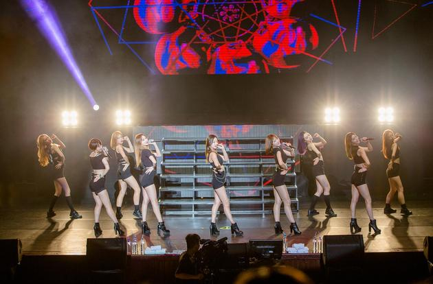 EXID办首场台湾粉丝见面会 现场惊喜不断