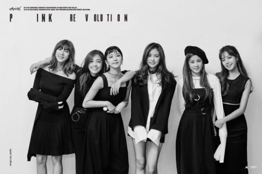 Apink新专辑主打歌「让我心动」获得多榜一位 兴奋留言感谢粉丝