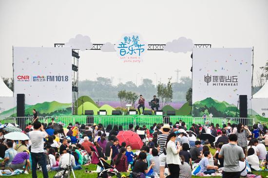 都市之声野餐音乐节落幕 听音乐品美食践行环保