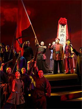 大型原创民族歌剧《八月桂花遍地开》
