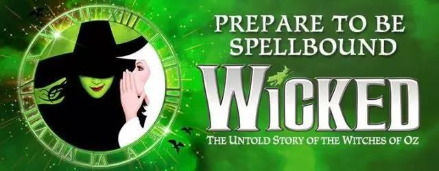 《魔法坏女巫》10月14号开票,最优惠的早鸟票可预订登记啦!