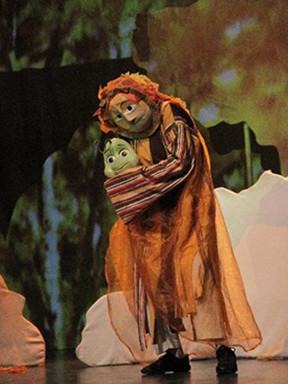 第七届中国儿童戏剧节成都分会场  木偶音乐剧《一千零一朵玫瑰花》