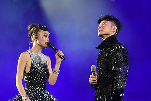 2017年克不容缓容祖儿李克勤中国巡回演唱会行程安排