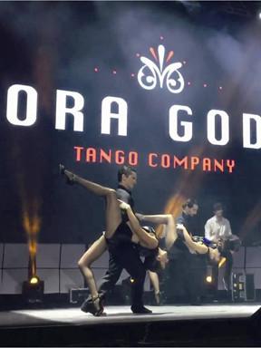 """阿根廷""""探戈舞王莫拉·戈多伊""""探戈舞蹈团访华演出《激情探戈》"""