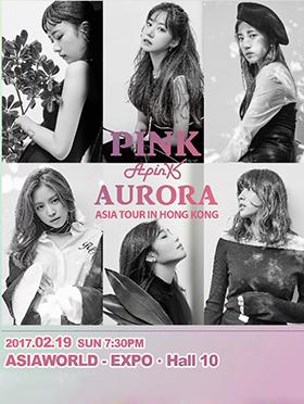 """Apink """"Pink Aurora"""" Asia Tour in Hong Kong"""