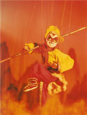 传承版木偶神话剧《火焰山》
