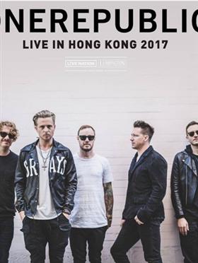 OneRepublic 香港演唱会 2017香港站