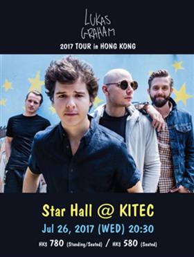 LUKAS GRAHAM 香港演唱会 2017