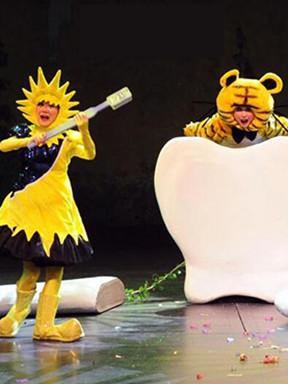 第七届中国儿童戏剧节成都分会场 互动游戏剧《爱吃糖果的大老虎》