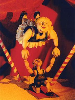 第七届中国儿童戏剧节成都分会场 提线木偶剧《木偶马戏团》