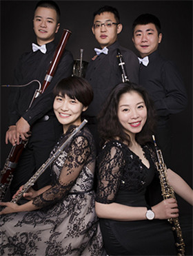 """重庆木管五重奏""""听,风之木管!""""音乐季2  《红火的年代》中国传统音乐专场音乐会"""