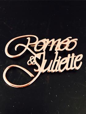 《罗密欧与朱丽叶》官方周边-罗朱胸针