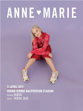 Anne-Marie Live in Hong Kong 香港演唱会 2019