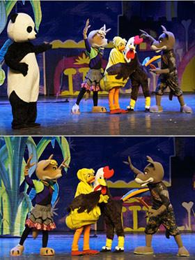 【小橙堡】儿童安全舞台剧《熊猫胖大和他的小伙伴们》--北京站