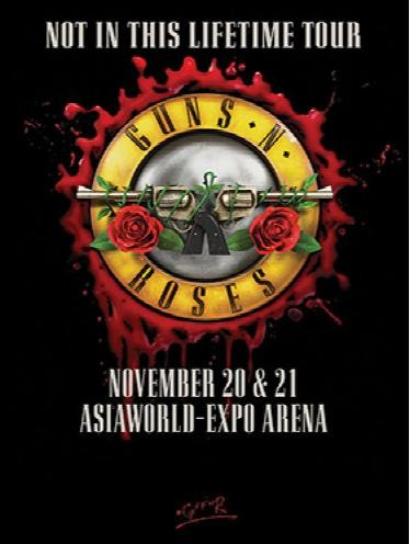 Guns N' Roses: Not In This Lifetime Tour Hong Kong 香港演唱会 2018