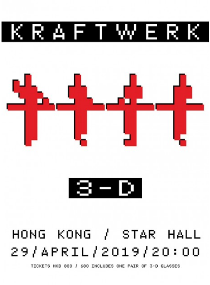 KRAFTWERK 3-D TOUR in Hong Kong 香港音乐会 2019